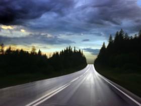 Я стою на обочине дороги...